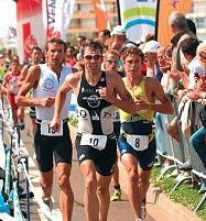 Le triathlon des Sables 1
