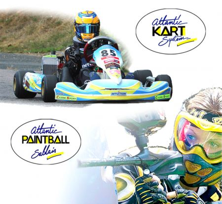 Atlantic Kart System et Atlantic Paintball Sablais